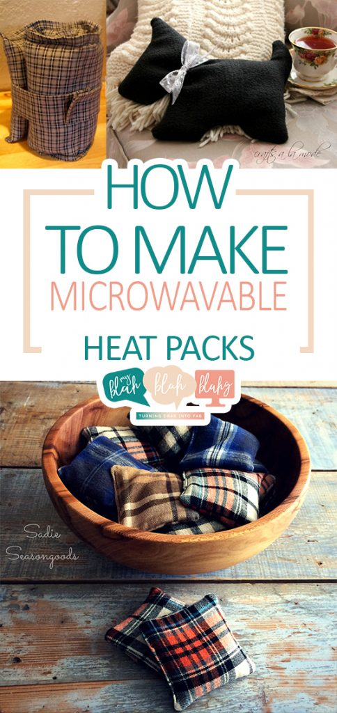 How to Make Microwavable Heat Packs| Microwavable Heat Packs, Heat Packs, DIY Heatpacks, No Sew Heat Pack Projects, No Sew Projects, Quick Craft Projects, Crafting, Craft Hacks, Easy Projects #easycrafts #craftprojects #diycrafts #diyhome #fastdiys #easydiyprojects