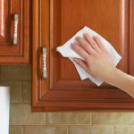 The EASIEST Way to Clean Your Greasy Cabinets| How to Clean Your Cabinets, Cabinet Cleaning Tips and Tricks, How to Remove Grease from Cabinets, Cleaning, Cleaning Tips and Tricks, Cleaning Hacks, Cleaning 101, Fast Cleaning Tips, Popular Pin