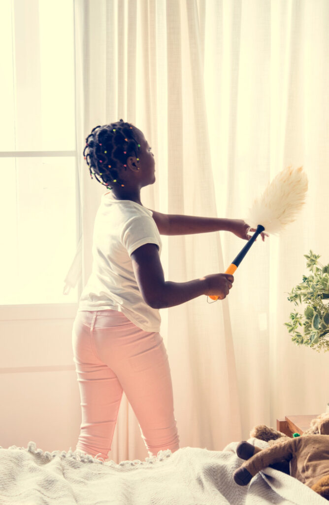Sometimes controlling the dust seems like an impossible job, but with these cleaning tips and tricks, we are going to show you how to control house dust once and for all!  Make sure you're cleaning your window treatments every 3-4 month.s