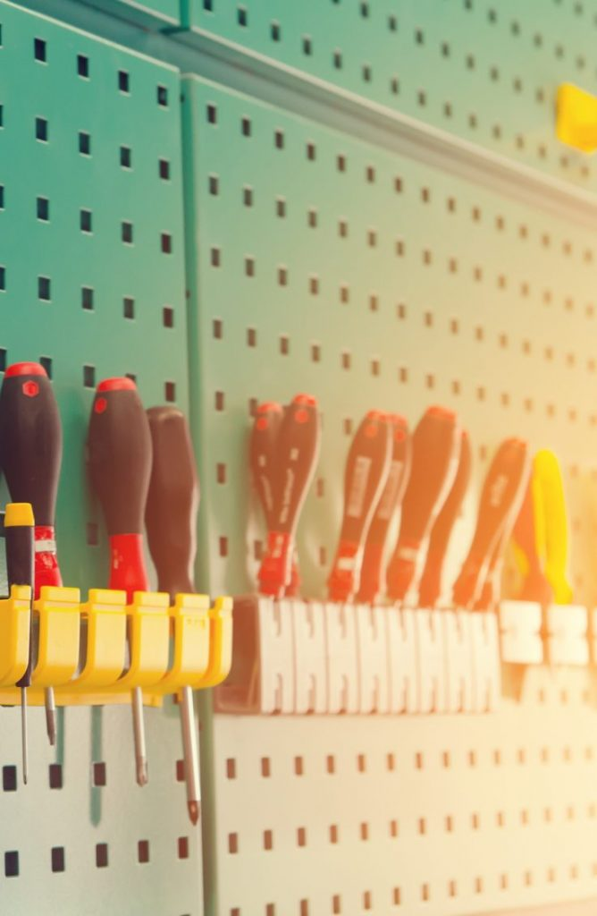 Pegboard is one of the most underrated items out there! It can solve so many of your problems. These are can't miss pegboard ideas!