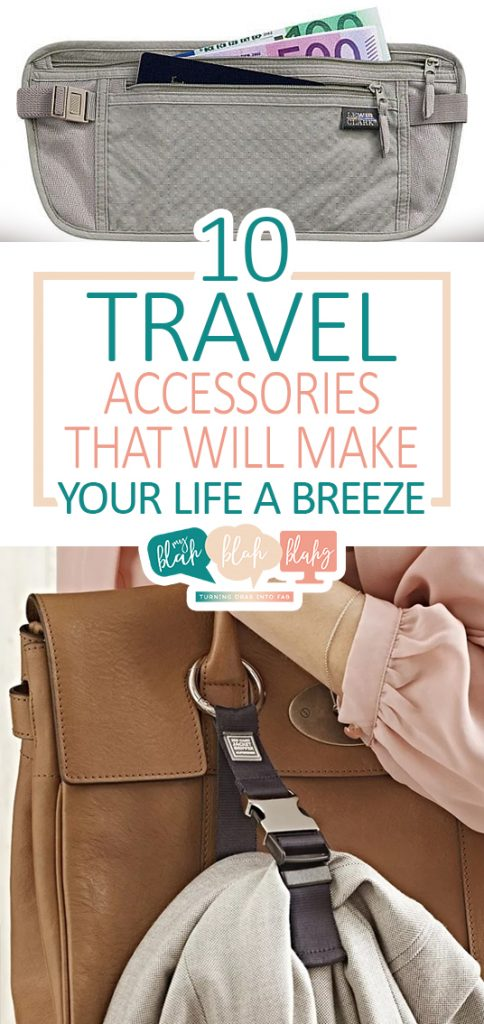 10 Travel Accessories That Will Make Your Life a Breeze| Travel Accessories, Travel Accessories You Need, Travel, Travel Hacks, Things to Know While Traveling, Traveling Tips and Tricks, Popular Pin. #travel #travelhacks #travelaccessories #lifehacks