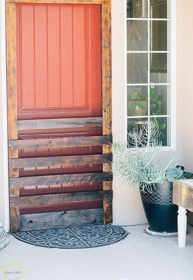 12 DIY Screen Door Projects| Screen Door, Screen Door Projects, DIY Screen Door Projects, Build Your Own Screen Door, How to Build Your Own Screen Door, Fast Ways to DIY a Screen Door, Build A Screen Door, Popular Pin