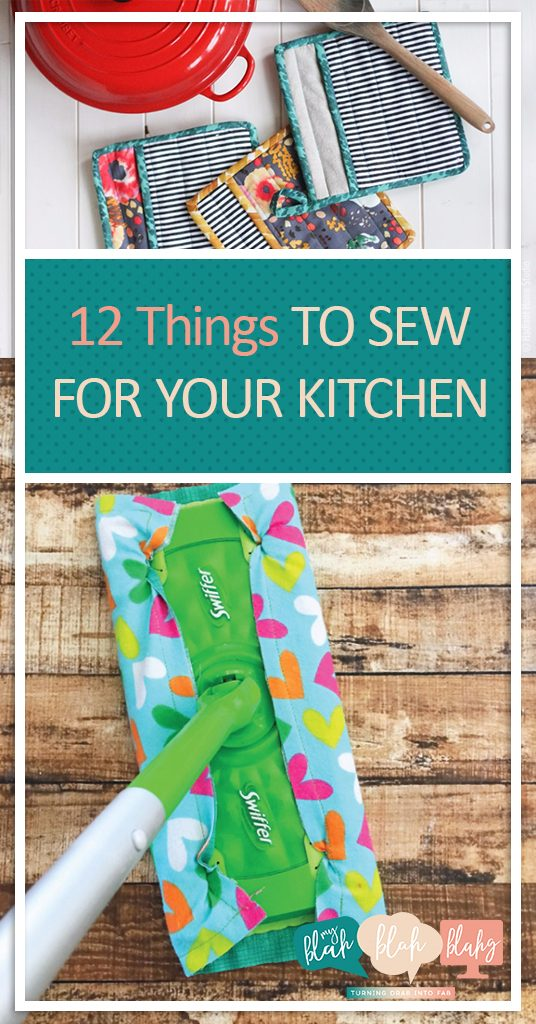 12 Things To Sew For Your Kitchen