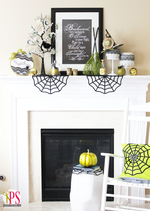 13 Fang-Tastic Halloween Mantel Projects  Halloween Mantel, Mantel Projects, Halloween Decor, How to Decorate for Halloween, Holiday Decor, Halloween Decor DIY, Decorating Your Mantelpieces, Popular Pin