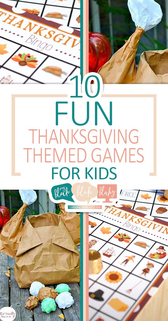 10 Fun Thanksgiving Themed Games for Kids| Thanksgiving, Thanksgiving Party Games, Party Games for Kids, Party Games, Thanksgiving Party Ideas, Party Planning Tips, Holiday Party Planning Hacks, Party Theme Ideas, Popular Pin