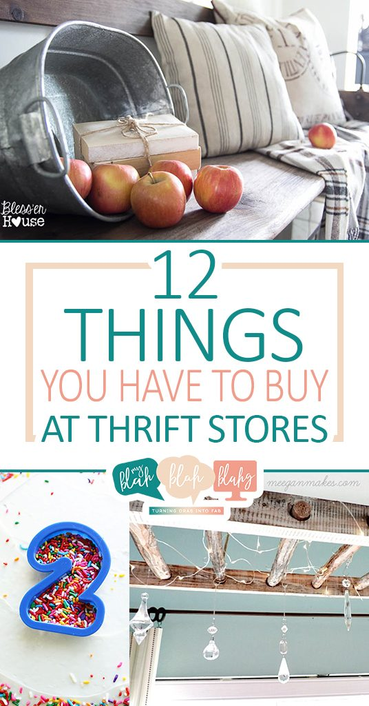 12 Things You HAVE To Buy At Thrift Stores  Thrift Store Home Decor, Thrift Store Shopping, Shopping At Thrift Stores, Thrift Store Shopping Hacks, DIY Thrift Store, Thrift Store DIY, #ThriftStore #ThriftStoreShopping #ThiftStoreShoppingTricks