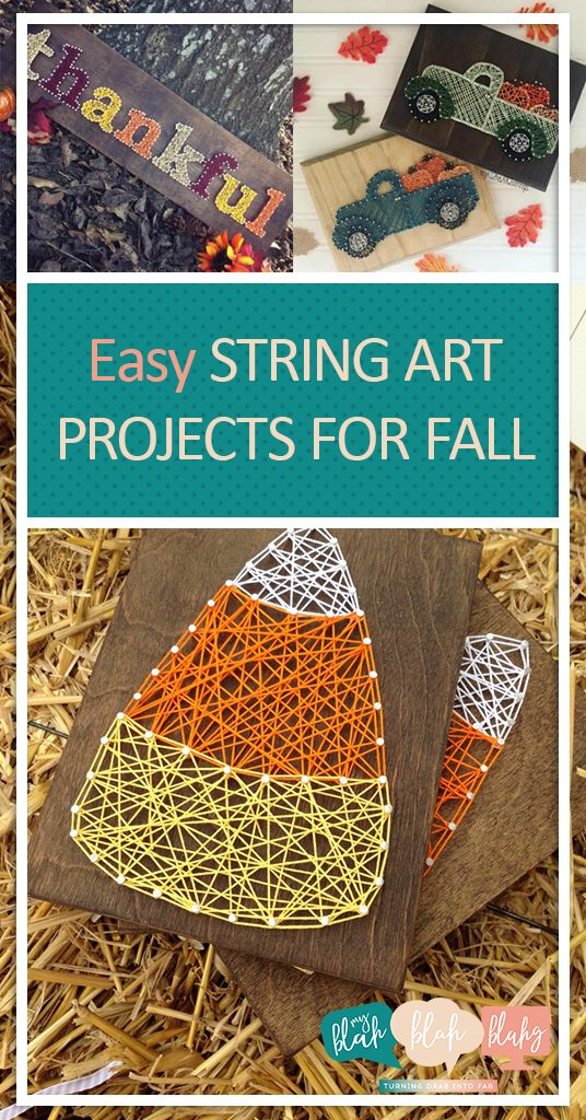 Easy Cute Easy String Art Ideas