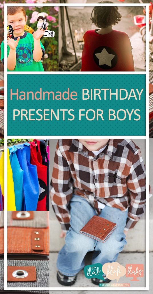 Handmade Birthday Presents for Boys| Birthday Presents, DIY Birthday Presents, Presents for Boys, Boy Presents, Handmade Presents for Boys, Cheap Presents for Boys. #Gifts #GiftIdeas #BirthdayPresents