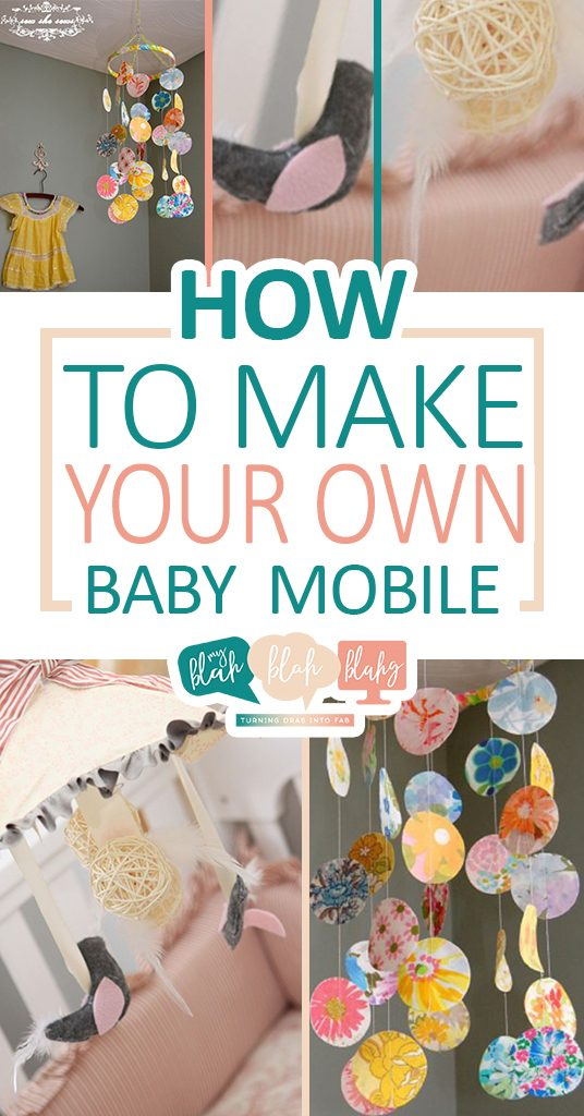 How to Make Your Own Baby Mobile  Baby Mobile, Baby Mobile Projects, DIY Baby Mobile, Baby Mobile Tips and Tricks, Handmade Baby Mobile, DIY Baby Nursery Projects, Popular Pin
