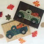 Easy String Art Projects for Fall| String Art Crafts, String Art Craft Projects, Fall Crafts, Crafts for Fall, Fun Crafts for Fall, String Art DIYs, DIY String Art Projects, Popular Pin #StringArt #FallStringArt #HolidayStringArt #HolidayStringArtProjects