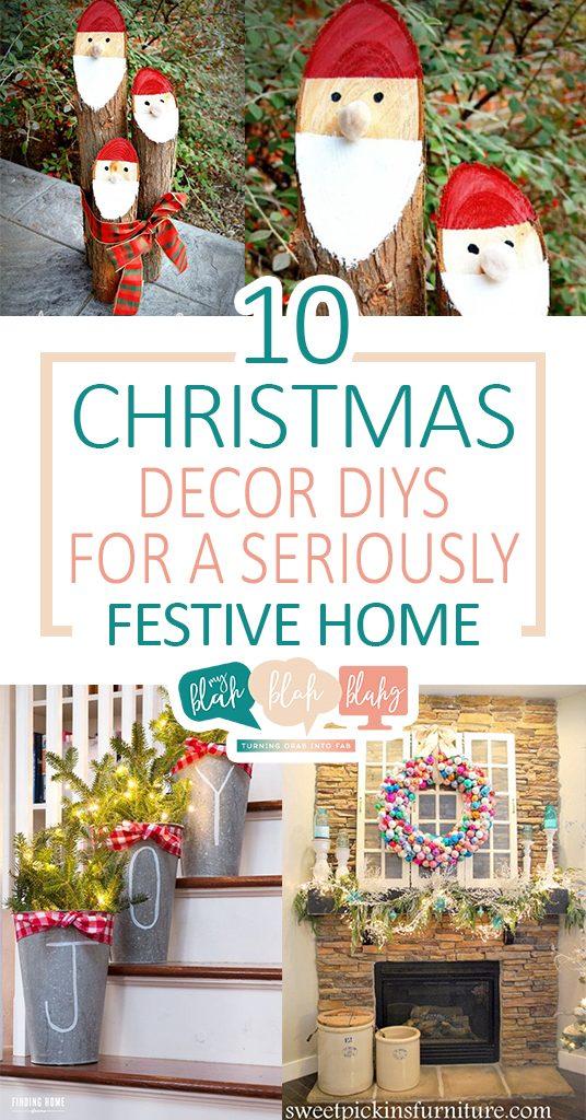 10 Christmas Decor DIYs For A Seriously Festive Home| Christmas Decor, DIY  Christmas Decor