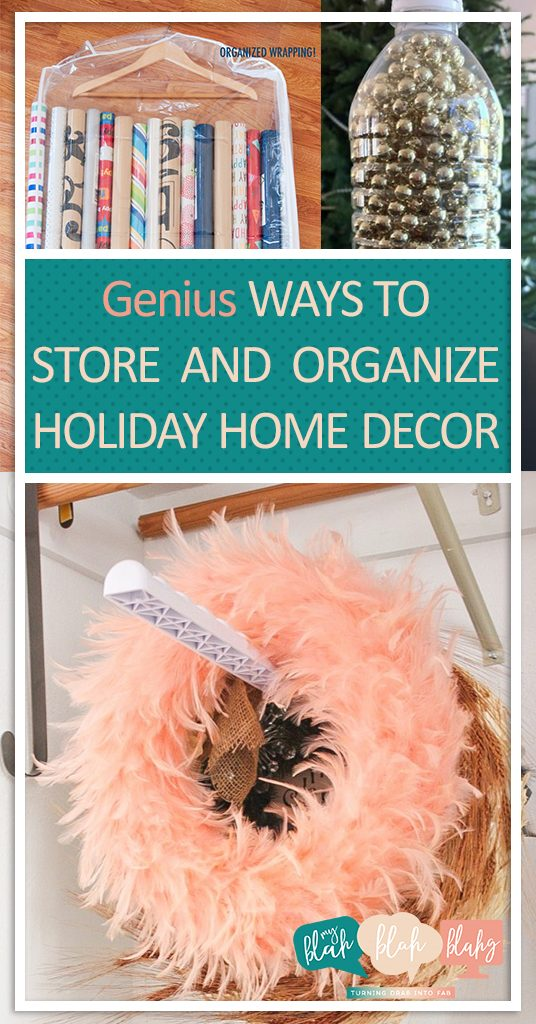 Genius Ways to Store and Organize Holiday Home Decor| Holiday Decor Storage, How to Store Holiday Decor, Organization, Home Organization, Home Organization and Storage, Organization 101, Popular Pin #HolidayDecorStorage #Christmas #Organization #StorageIdeas