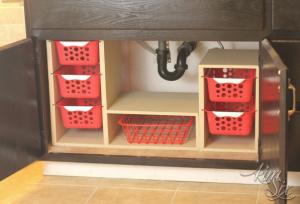How To Organize Under Bathroom Sink Cabinet
