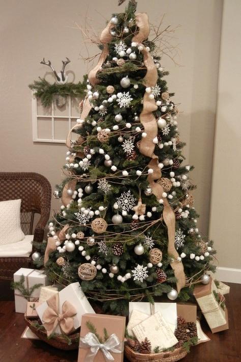 Ribbon On Christmas Tree.Get Gorgeous Christmas Tree Ribbon