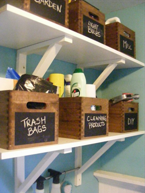 1 Make Four Piles The Great Closet Clean Out Is Your: 10 DIY Home Storage And Organization Ideas