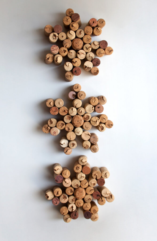 Put all your wine corks to good use by creating darling snowflakes! From wreaths to ornaments to magnets, wine corks make great material for Christmas Crafts! Check out this list list of wine cork Christmas crafts!