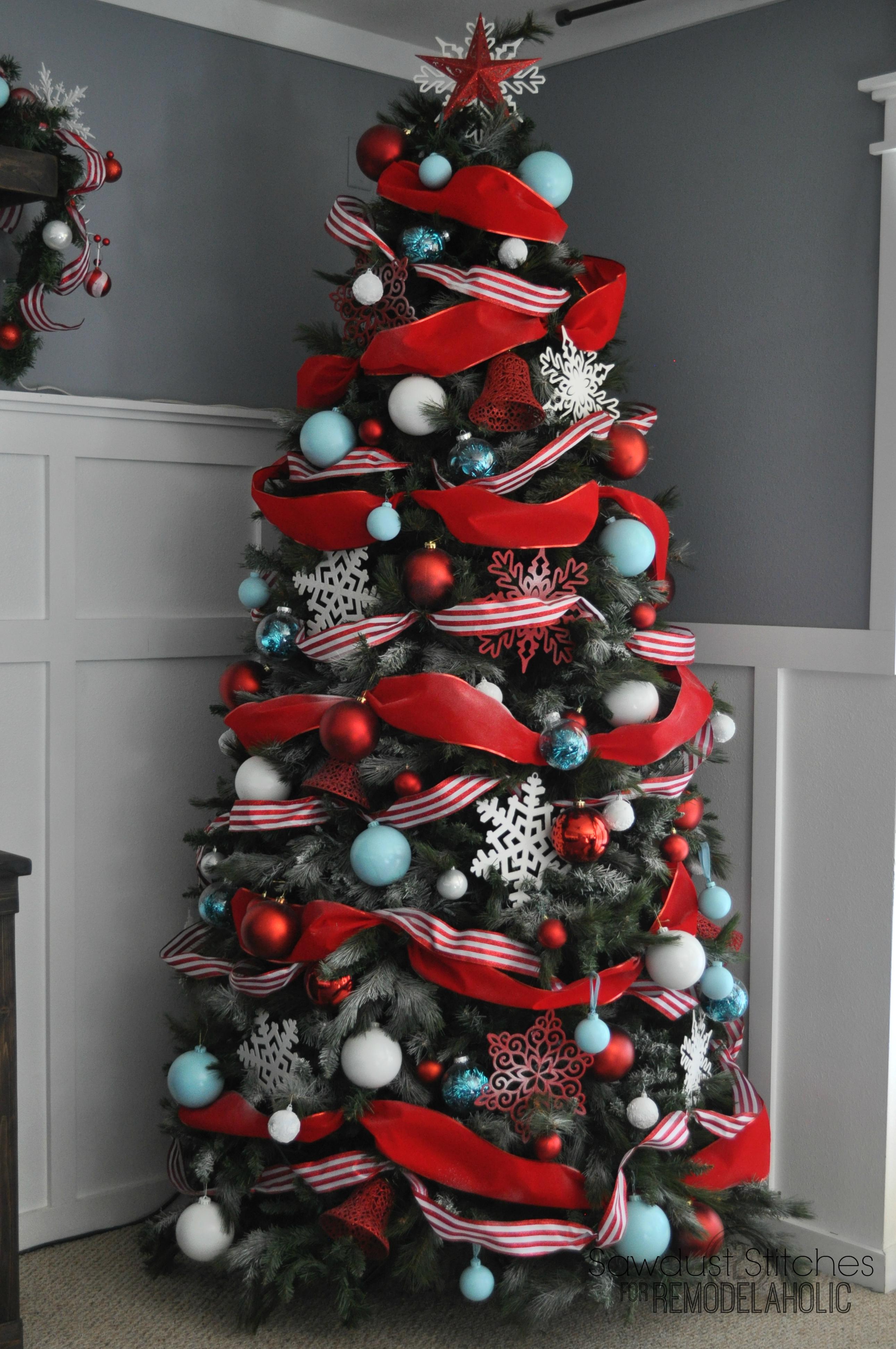 How To Put Ribbon On Christmas Tree.Ribbon On Christmas Tree The Instapaper