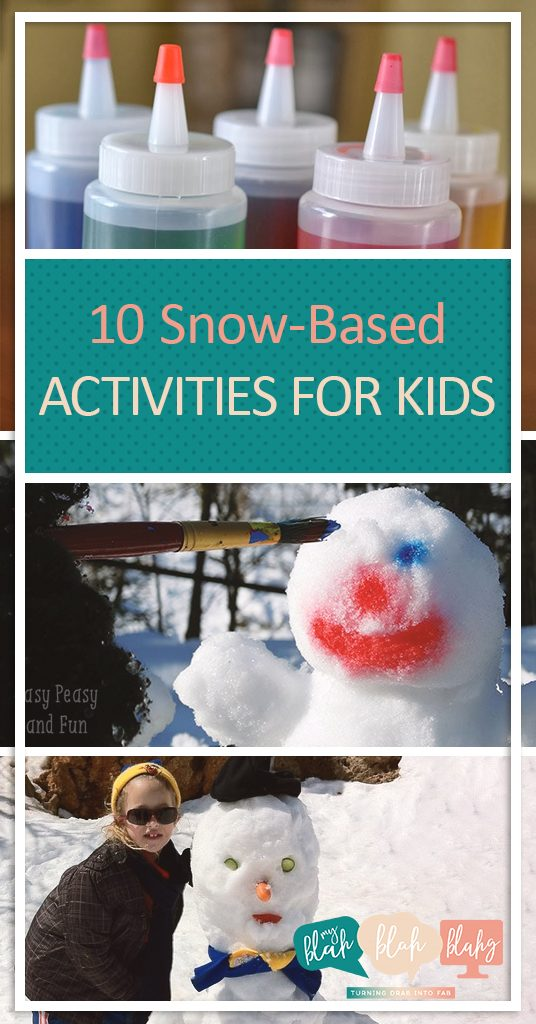 10 Snow-Based Activities for Kids| Snow Based Activities for Kids, Kid Stuff, Winter Activities for Kids, Kid Stuff, Fun Activities for Kids, Popular Pin #ActivitiesforKids #KidStuff