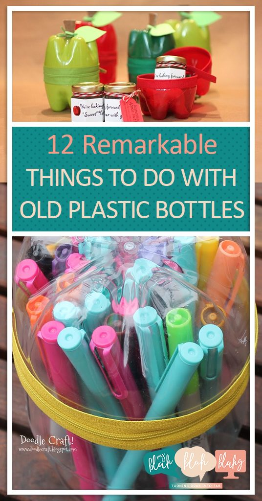 12 Remarkable Things to Do With Old Plastic Bottles| Plastic Bottle Crafts, Repurpose Crafts, DIY Crafts, DIY Crafts for Kids, Easy Crafts, DIY Kid Stuff, Popular Pin #RepurposeCrafts #DIYCrafts