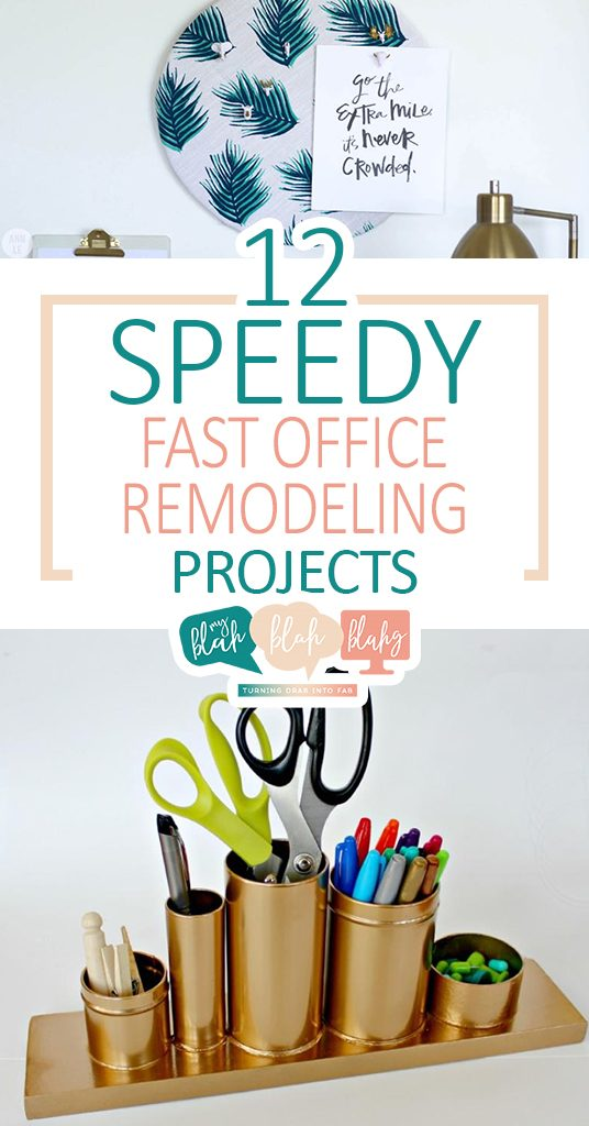 12 Speedy Fast Office Remodeling Projects| Office Remodeling, Office Remodeling Projects, DIY Home, DIY Home Decor, Office Decor, DIY Office Decor, Home Remodeling, Home Remodeling Projects #DIYHomeDecor #HomeRemodeling #DIYOfficeDecor