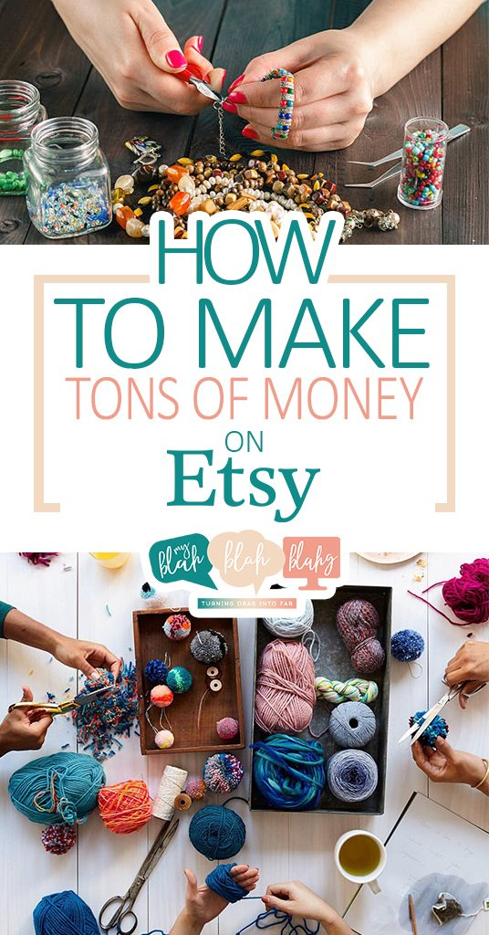 How to Make Tons of Money on Etsy| Make Money, Etsy Shop, DIY Etsy Shop, Money Making Crafts, DIY Crafts, Side Job, Crafting Side Job #MakeMoney #Etsy #SideHustle #SideJob