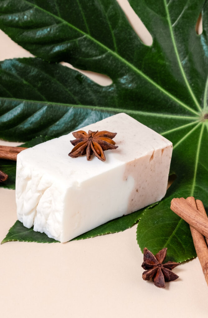 If you've ever wanted to make your own homemade lotion bars, we're here for you! This chocolate chai tea coconut oil lotion bar will quickly become your favorite!