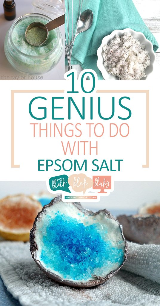 Terrific ways to use Epsom salt throughout the home. | Epsom Salt, Epsom Salt Uses, DIY Uses for Epsom Salt, All Natural Home, Natural Home Hacks #EpsomSalt #NaturalHome
