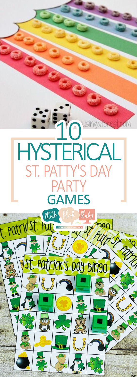 10 Hysterical St Patty's Day Party Games| St Patricks Day Party, St Patricks Day Party Ideas, Party Games, Fun Party Games, Easy Party Games, St Patricks Day, DIY St Patricks Day #STPatricksDay #Party #PartyGames