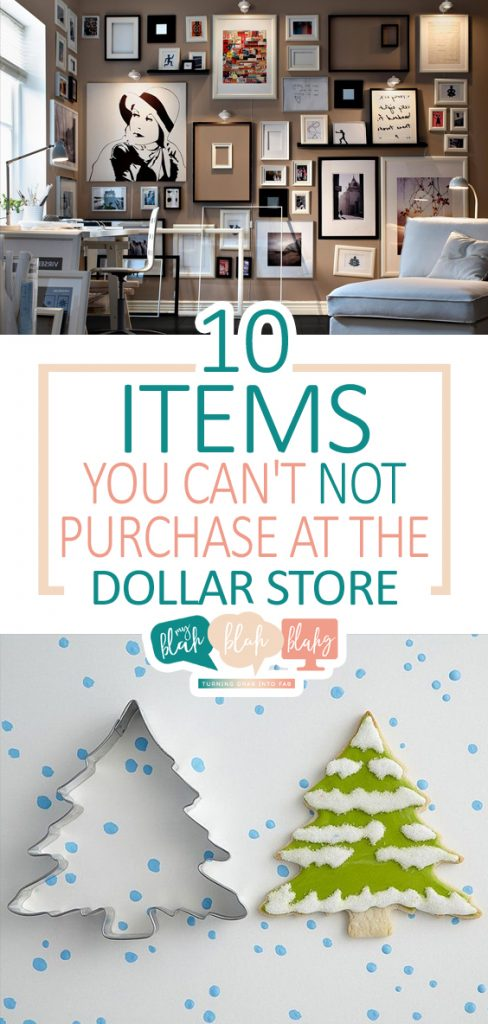 10 Items You Can't NOT Purchase at the Dollar Store| Dollar Store, Dollar Store DIYs, Dollar Store Crafts, Craft Supplies, Easy Dollar Store Projects, Cheap DIY Projects, Popular Pin #DollarStore #DIYDollarStore