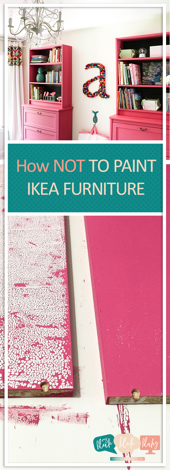 How NOT to Paint IKEA Furniture| Painting IKEA Furniture, How to Paint IKEA Furniture, Furniture DIYs, DIY Furniture, Painting Furniture, Painted Furniture Hacks, IKEA, IKEA Hacks, IKEA Hacks for the Home, DIY Home Hacks, Popular Pin #IKEAHacks #PaintedFurniture #PaintedFurnitureProjects