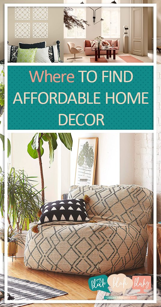 Where to find affordable home decor for Affordable home accents