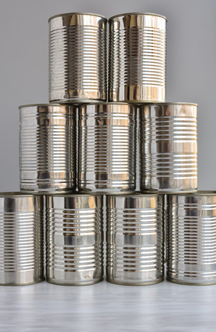 Your cans probably aren't as organized as this. Organize canned goods with these pantry organization and storage projects, products, and ideas.