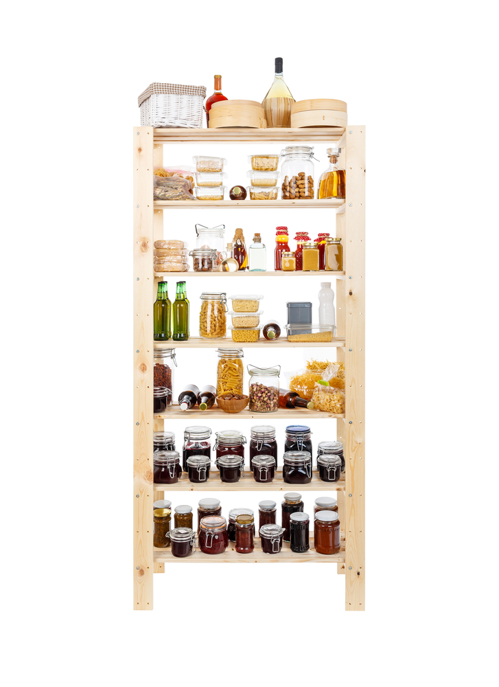Are you sick of your canned goods being a mess? Organize canned goods with these pantry organization and storage projects, products, and ideas.