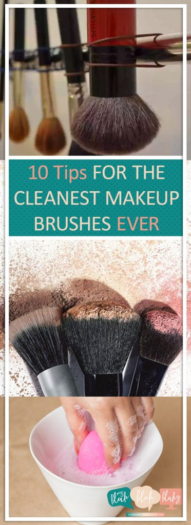 10 Tips for the Cleanest Makeup Brushes EVER| Makeup Brushes, Clean Makeup Brushes, Makeup Brush, Makeup Brush Hacks, Clean Makeup Brushes, How to Clean Makeup Brushes, Popular Pin #Clean #Makeup #Beauty