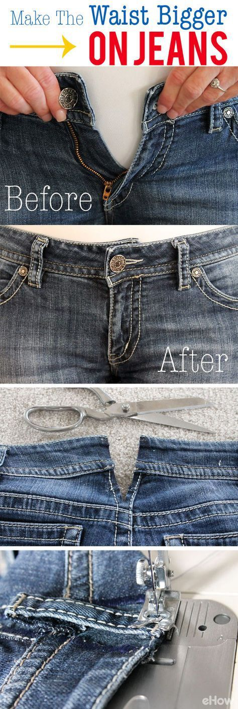 Do you have a bunch of clothes that no longer fit you? You don not need to throw them away! Here is what to do with clothes that don't fit. You will love all of these repurposing ideas!
