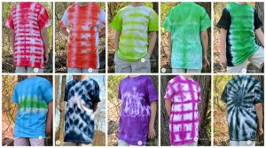 How to Tie Dye ANYTHING Without a Huge Mess| Tie Dye, Tie Dye DIY, Crafts, Easy Crafts, Tie Dye Patterns, Tie Dye Techniques, Crafts, Crafts for Kids, Crafts to Make and Sell #TieDye #TieDyeDIY #TieDyeCrafts