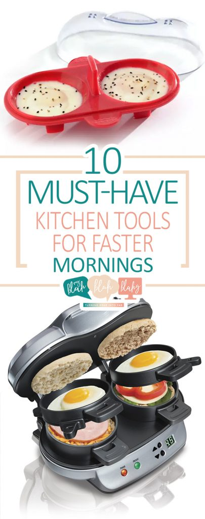 10 Must-Have Kitchen Tools for Faster Mornings| Kitchen Tools Must Have, Kitchen Tools and Gadget,  Kitchen Tools, Kitchen Tool STorage