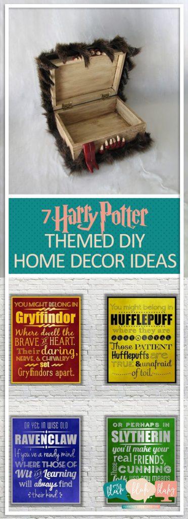 7 Harry Potter Themed Diy Home Decor Ideas