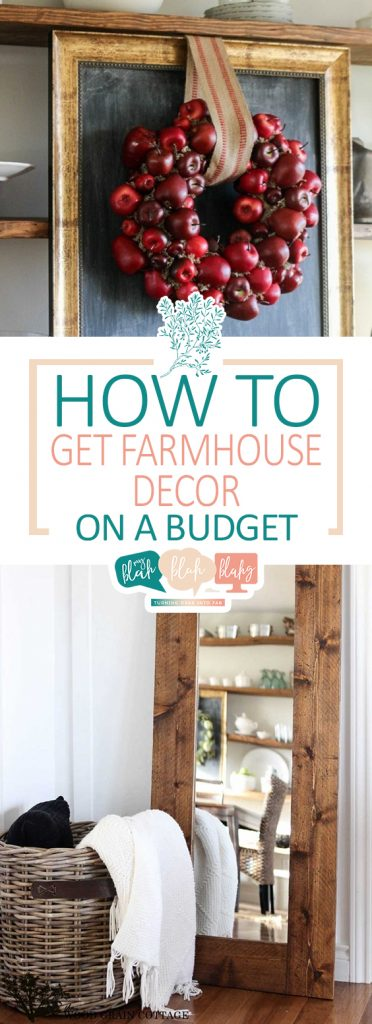 How to Get Farmhouse Decor on a Budget| Farmhouse Decor, DIY Farmhouse Decor, Farmhouse Decor DIY, Farmhouse DIY, DIY Home Decor, Home Decor Ideas, Home Decor Ideas on a Budget