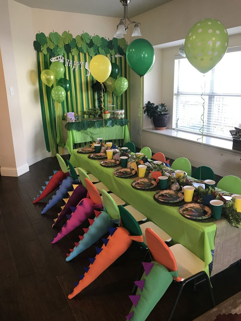 "DIY Dinosaur Birthday Party Ideas for a ""Rawring"" Good Time