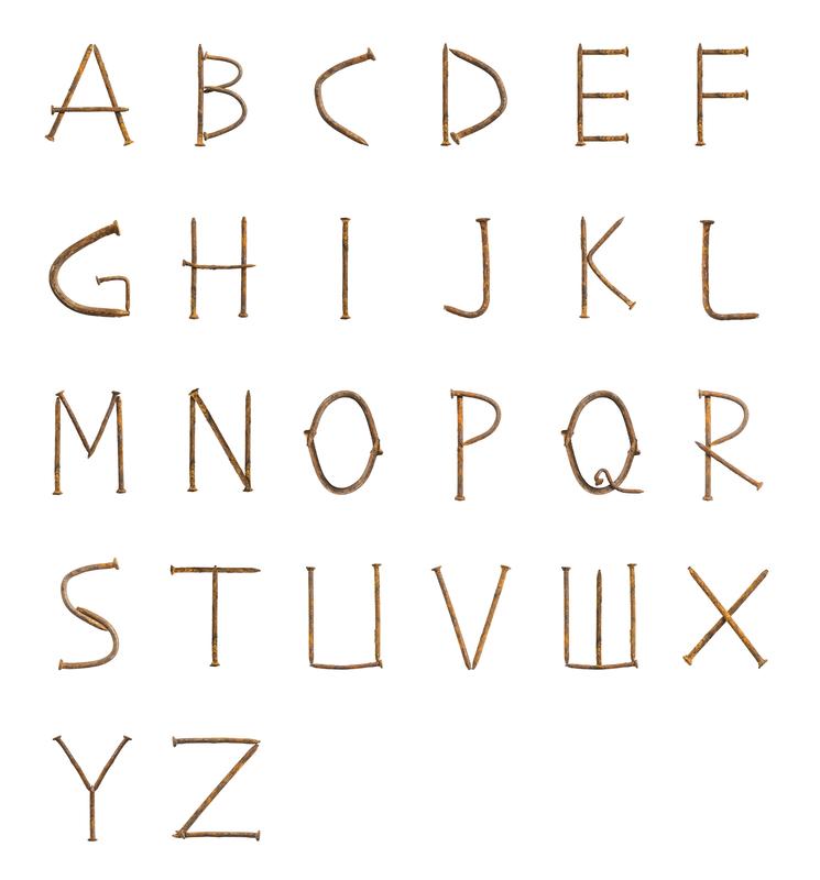 Rusty Nails Font