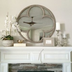 10 Darling Ways to Dress Up Your Mantle| Mantle Decor, Mantle Decorating Ideas, Mantle Decorating Ideas With TV, Mantle Decor With TV, Home Decor, Home Decor Ideas