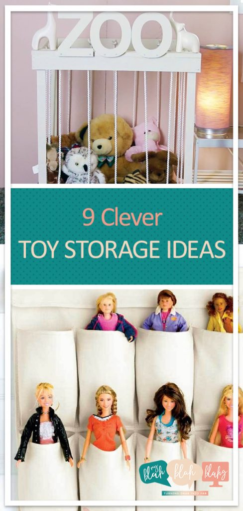 9 Clever Toy Storage Ideas| Toy Storage, Toy Storage Ideas, Toy Organization Ideas,  Toy Storage for Small Spaces, Toy Storage for Living Room, Toy Storage for Small Spaces