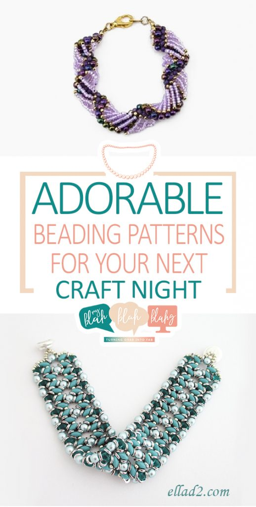 Adorable Beading Patterns for Your Next Craft Night| Beading Patterns, Beading Patterns Free, Beading Pattern Ideas, Crafts, DIY Craft