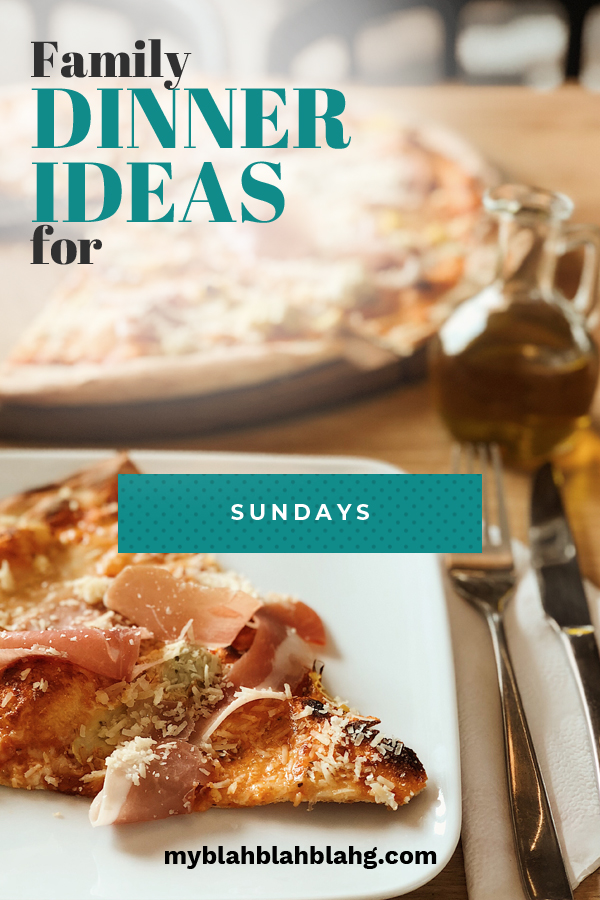 Time to prepare family dinner but out of fresh ideas? No worries! I've got you set with this list of family dinner ideas to prepare for your next Sunday dinner! Simple, easy, but DELICIOUS recipes!