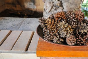 Pinecone Fall Decor | Fall Decor | DIY Fall Decor with Pinecones | DIY Pinecone Fall Decor | Fall Decorations using Pinecones