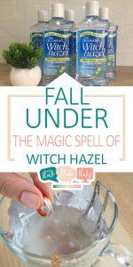 Witch Hazel | The Magic Spell of Witch Hazel | Witch Hazel Uses | How to Use Witch Hazel | Tips and Tricks for Using Witch Hazel