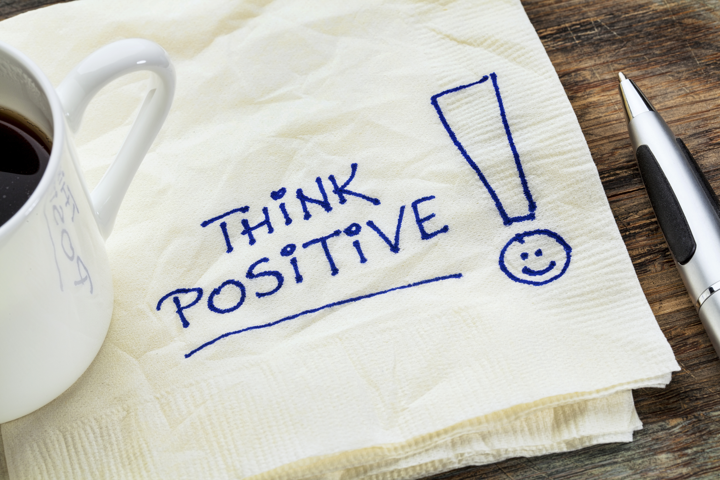 Finding positivity in life can be hard but you have to remember to think positive
