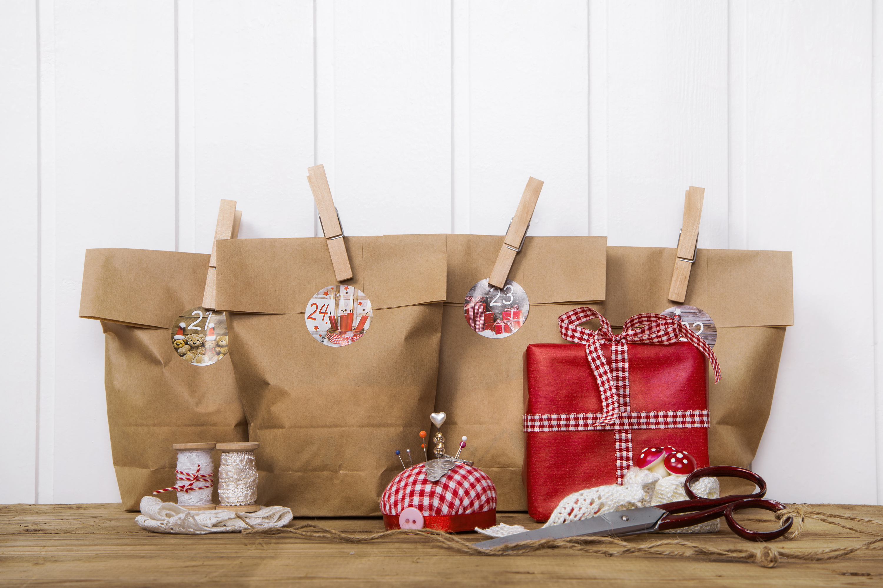Christmas paper bag gift ideas