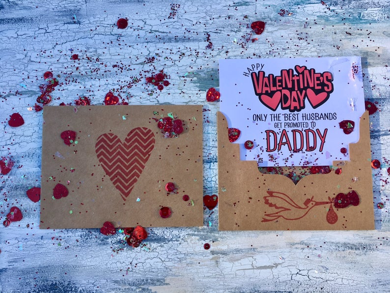 Valentine's Day is the perfect time to announce your pregnancy. These Valentine's Day pregnancy announcement ideas will definitely spread the love! The father of the kid will love this surprise!